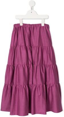 Familiar Full Maxi Skirt