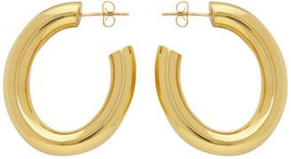 Laura Lombardi Gold Curve Earrings