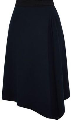 By Malene Birger Ulydia Asymmetric Ribbed-knit Skirt