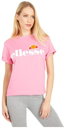 Ellesse Albany T-Shirt (Morning Glory Pink) Women's T Shirt