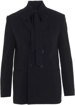 RED Valentino Double-Breasted Blazer