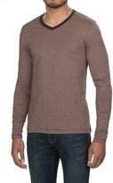 Jeremiah Prescott Twist Yarn Shirt - V-Neck, Long Sleeve (For Men)