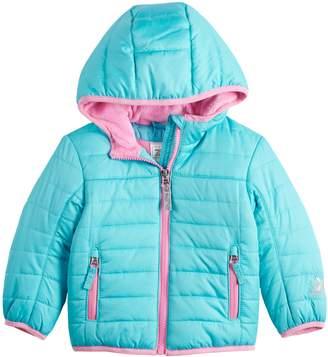 ZeroXposur Baby Girl Hooded Puffer Jacket