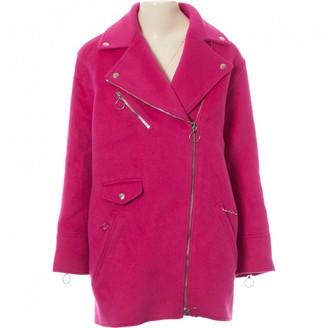 Moschino Cheap & Chic Moschino Cheap And Chic Pink Wool Coat for Women