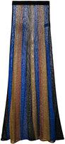 Balmain knitted maxi skirt - women - Viscose/Polyamide-8/polyester-8 - 36