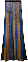 Balmain knitted maxi skirt - women - Viscose/polyester-8/Polyamide-8 - 36