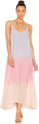 9seed 9 Seed Tulum Cotton Maxi Dress