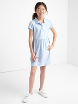 Gap Short sleeve polo dress