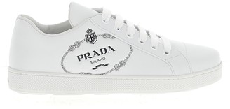Prada Printed Logo Sneakers