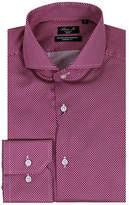 Linea In Dot Patterned Dress Shirt