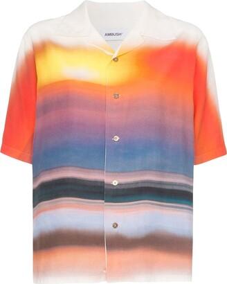 Ambush Hawaiian tie-dye short-sleeved shirt