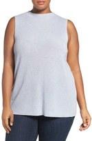 Eileen Fisher Plus Size Women's Tencel & Merino Shell