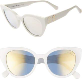 Roberto Cavalli 53mm Cat Eye Sunglasses