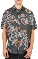 Volcom Men's Cubano Cotton Blend Woven Shirt