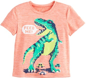 Toddler Boy Jumping Beans Heathered Graphic Tee