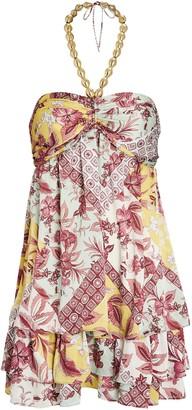 Alexis Irati Floral Halter Dress