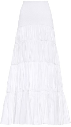 Johanna Ortiz Exclusive to Mytheresa a Principe cotton poplin skirt