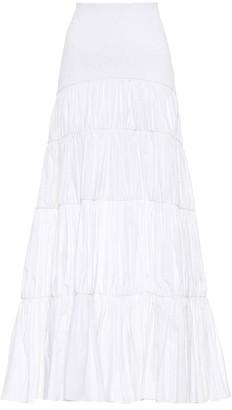 Johanna Ortiz Exclusive to Mytheresa Principe cotton poplin skirt