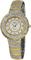 Burgi Women's Brass Diamond Watch
