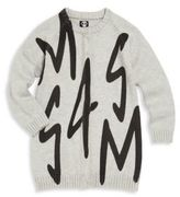 Sorry 4 The Mess Toddler's, Little Girl's & Girl's Printed Scribble Long Cardigan