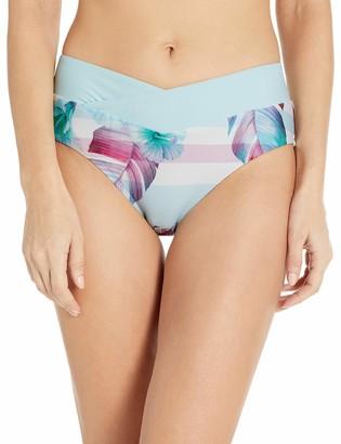 Next Women's Midrise Surplice Swimsuit Bikini Bottom