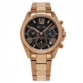 SO & CO Ny Women'S Madison Rose Gold Stainless Steel Bracelet Sport Quartz Multifunction Watch J155P40