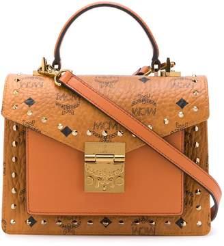MCM Patricia small studded satchel