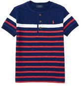 Ralph Lauren Childrenswear Striped Short Sleeve Henley