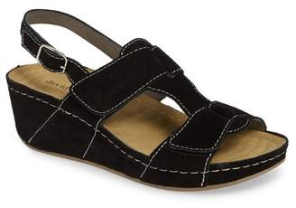David Tate Reba Wedge Sandal - Multiple Widths Available