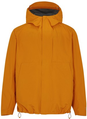 Norse Projects Fyn orange Gore-Tex jacket
