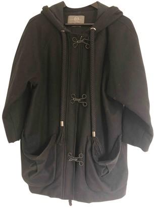 McQ Blue Wool Coat for Women