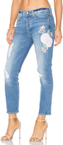 7 For All Mankind Josefina Embroidered Boyfriend