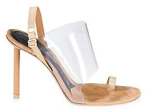 f7c154cd88 Alexander Wang Women's Kaia PVC High Heel Sandals