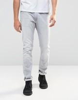 Lee Luke Skinny Jeans Gray Cloud
