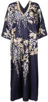 Natori Vines Square caftan dress