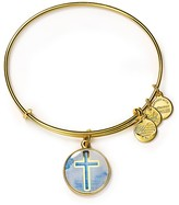 Alex and Ani Art Infusion Cross Expandable Wire Bangle