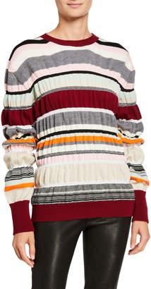 J.W.Anderson Multi-Striped Wool Sweater