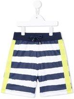 MSGM striped track shorts