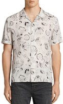 AllSaints Feels Slim Fit Button-Down Shirt