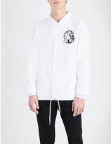 Billionaire Boys Club Logo-printed coach shell jacket