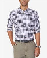 Nautica Men's Marine Check Long-Sleeve Shirt
