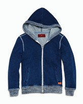 7 For All Mankind Boys' Zip Up Hoodie - Sizes 4-7