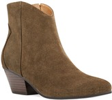Nine West Tristan Women's Suede Western Ankle Boots