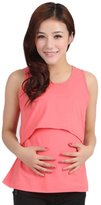 Orangesky Pregnant Maternity Clothes Nursing Tops Breastfeeding Vest T-Shirt