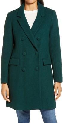 Sam Edelman Double Breasted Boucle Coat