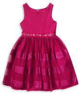 Sweet Heart Rose Sweetheart Rose Girls 2-6x Embellished Fit-and-Flare Dress