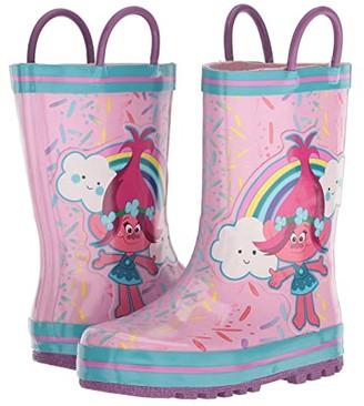Favorite Characters 1TLF502 Trolls Rain Boot (Toddler/Little Kid) (Pink) Girls Shoes
