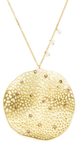 Meira T 14K Yellow Gold & 0.40 Total Ct. Diamond Large Disc Pendant Necklace