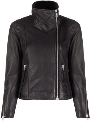 AllSaints Ellis leather jacket
