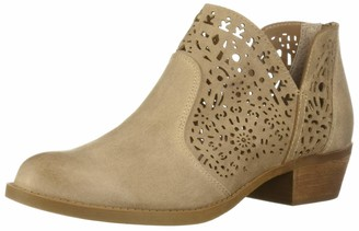 Carlos by Carlos Santana Women's Bridgett Ankle Boot Brulee 7 M US